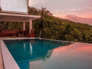 View Talay Samui Magnifique villa vue mer et sur cocoteraie, sans vis à vis.