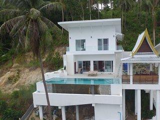 View Talay Samui Magnifique villa vue mer et sur cocoteraie, sans vis a vis.