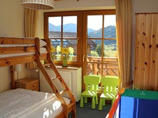 Kids bedroom in Chalet Filzmoos.