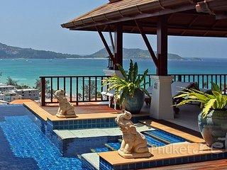 Superb Sea View Villa in Patong