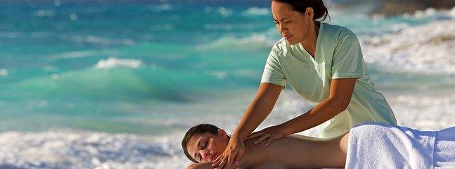 Versuchen Sie, einen herrlichen Strand Massage (sehr billig!)