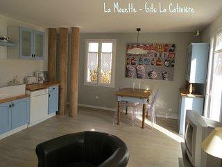 Maison de charme, bord de mer, 2 ch, 4 personnes,, La Cotiniere