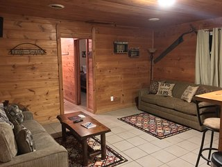 Cozy Cabin Wellston near Pine River Hunt Fish Relax! 3 Bed