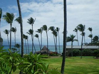 Steps to Napili Bay + Private Lanai + Great Ocean Views!