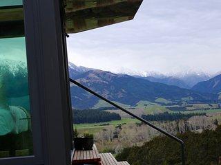 Manakau PurePod - luxurious glass eco-cabin in stunning & remote location