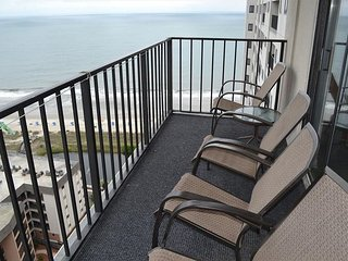 Myrtle Beach Resort T1917 | Spectacular Ocean View in this Updated Condo