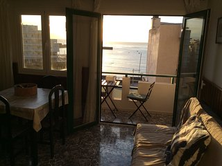 Apartment with seaview in front of El Medano beach