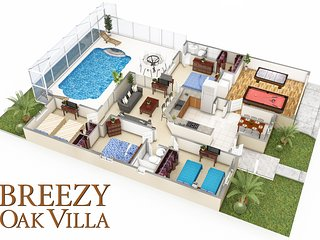 Breezy Oak Villa - Your vacation destination!