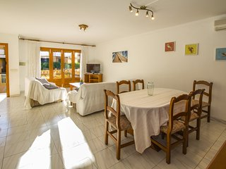 Pedrona-Cozy fishers house in Can Picafort , 100mts from the beach!