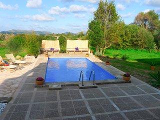 Sa Carbona Villa Rural 6+2p Piscina-BBQ-Porche exterior, Ideal Familias Levante