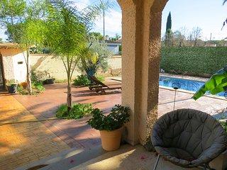 Villa con mucho encanto, para 9/10 personas cerca de Valencia, La Eliana