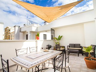 Grand Apartment with Terrace and Pool in Centre (C39)