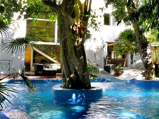 Los Charcos - Very private jungle villa two steps to Beach with Heated Pool!, Playa del Carmen