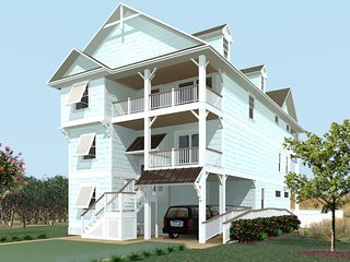 Happy Sol - 9 Bedroom Oceanfront Home, Nags Head