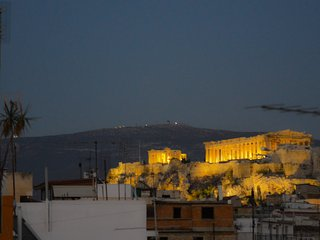 Athens studio with Acropolis view 2