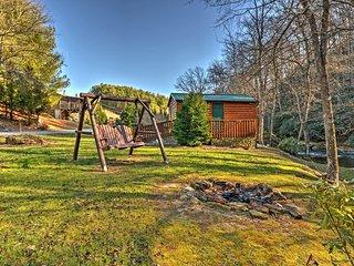 NEW! Riverfront 1BR Sparta Cabin w/Private Porch!