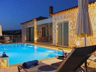 Luxury Villa Phaedra in Stoupa, Private, Infinity Pool, BBQ and unique sea view
