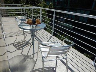Amplio loft para 5 personas en Palermo Hollywood con balcón