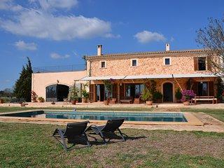 SON FRED, villa en el campo, cerca de las mejores playas de Mallorca.