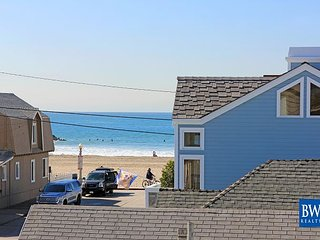 Ocean View Steps from the Sand in this Newly Renovated Beach Condo!