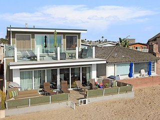 Open Contemporary Oceanfront Lower Unit in Duplex! Incredible Views!