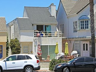 Lower 2BD/2BA Unit, Steps to the Beach, Huge Private Patio with BBQ