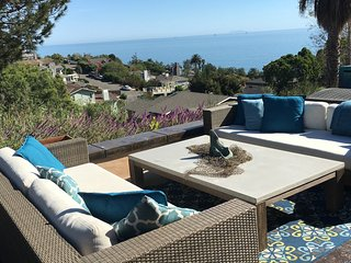 Spectacular Ocean View Villa! Minutes to the Beach & Wine Tasting!Near Montecito, Summerland