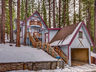 Charming Cabin+Studio, Walk to Heavenly, Lake & Casinos