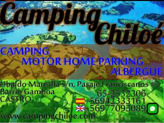 Camping Chiloé: Camping / Motor Home Parking / Albergue