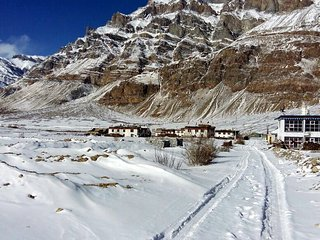 The Nomad's Cottage, Losar, Spiti Valley.