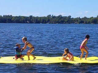 The amazing lilly pad/water floater will keep  your kids amused for hours!