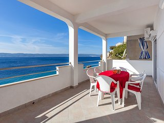 Apartments Nena - Two Bedroom Apartment with Terrace and Sea View (A2)