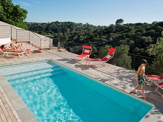 Villa Sarnia in Biot with Stunning View & Private Pool French Riviera Luxury