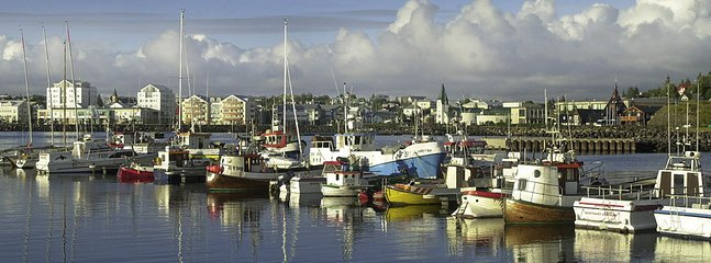 Hafnafjordur harbour