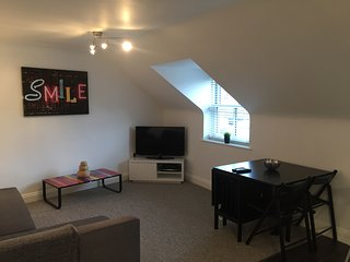 Your home from home 2 bedroom apartment in the heart of Swanage, pets welcome