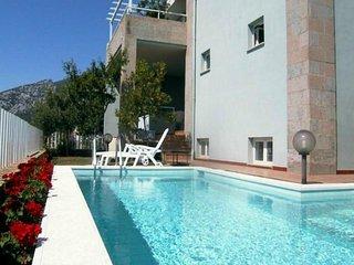 Appartamento in villa per 2 - 4 persone con uso piscina e giardino panoramico