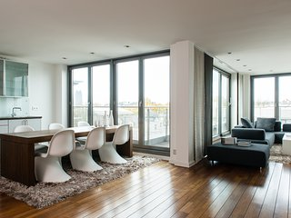 Design Penthouse/ Loft - Panorama View, Hambourg