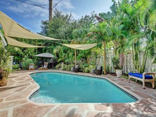 2BR Heated Pool Home!  Fantastic Location!