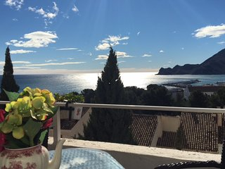 Casa Ellen - Duplex Appt in Old Town of Altea with wonderful sea & mountain view