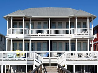Coastal Dream-  Gorgeous 5 Bedroom Oceanfront, Kure Beach