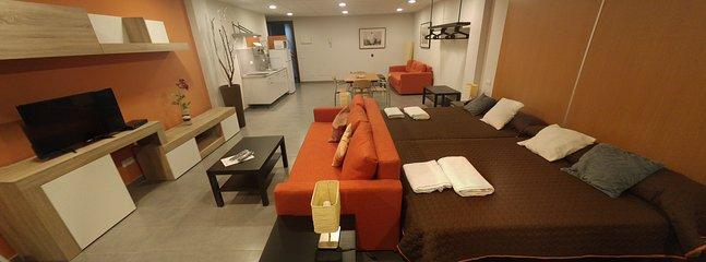 2D GRAND LOFT 2D - Salón/dormitorio