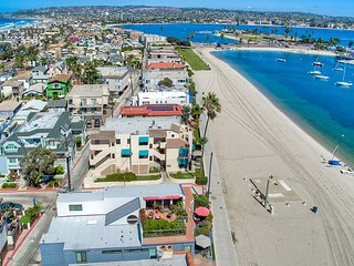 2 BEACH FRONT Townhomes 6br+6ba!!!, San Diego
