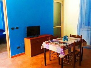 Appartamento Blu in Villa con Vista Mare