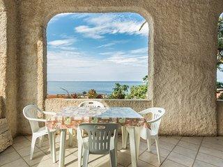 Appartamento con veranda vista mare