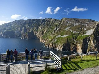 Slieve League Cliffs - among the highest sea cliffs in Europe - 609 meters