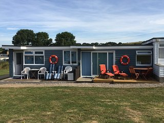 Our chalets Sandy Shores & Ocean Decks, handy for guests wanting 2 chalets