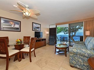 Gorgeous Remodeled Ocean Front Condo ~ Steps to BBQ/Pool ~ Kahana Reef #216