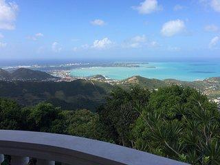 NEW! Pic Paradis Villa, views from top of island!