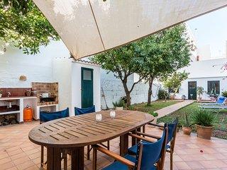 Planta baja con gran patio, Ciutadella