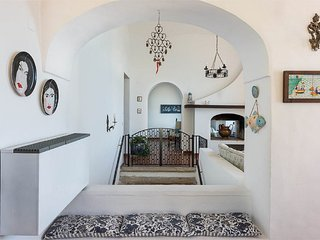 historic home is located in the center of Positano